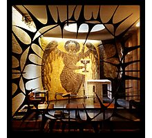Side Chapel, Coventry Cathedral Photographic Print