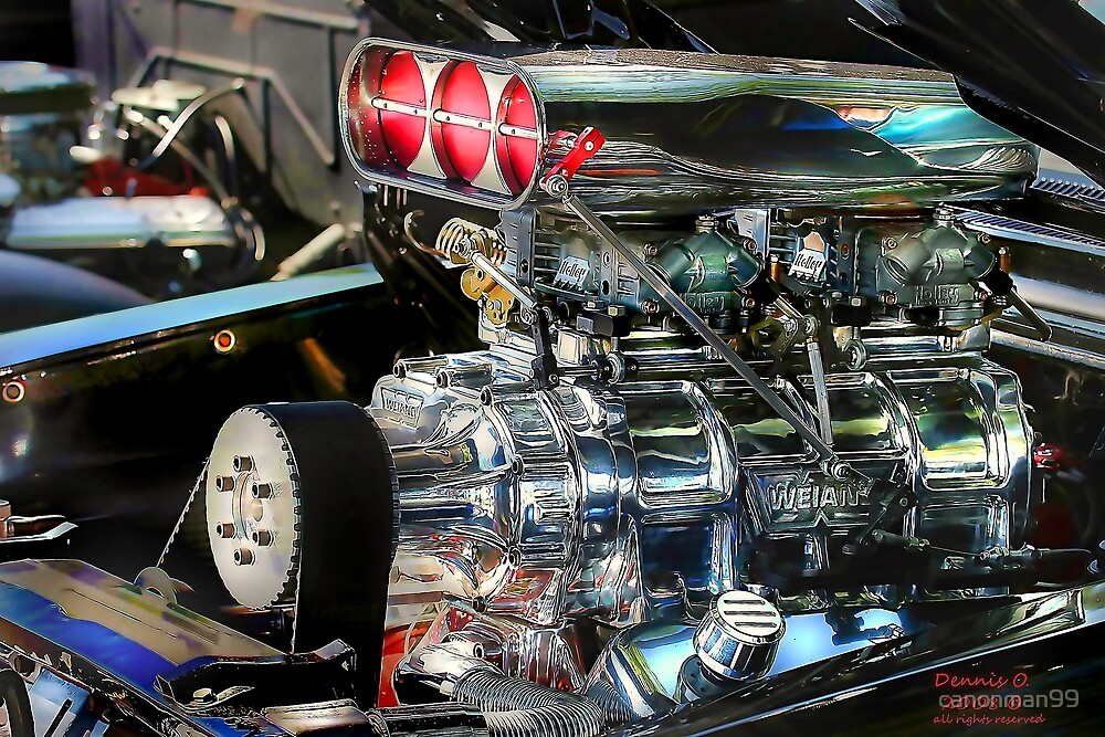 """ Chromed Blower "" by canonman99"