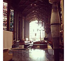 Inside Coventry Cathedral 2 Photographic Print