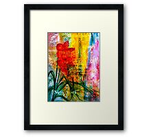 Now You're Not Here.... Framed Print