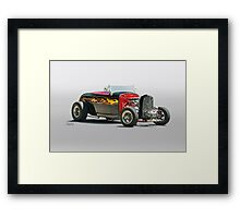 1932 Ford Roadster 'Oh Daddy-O' Framed Print