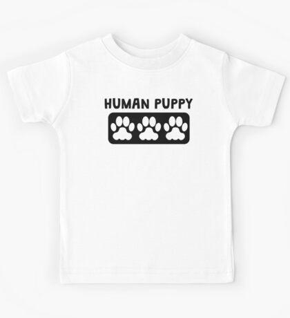 Human Puppy Kids Tee