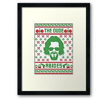 The Dudes Christmas Framed Print