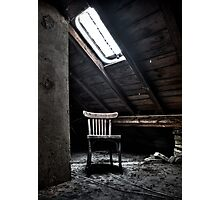Chair in the light Photographic Print