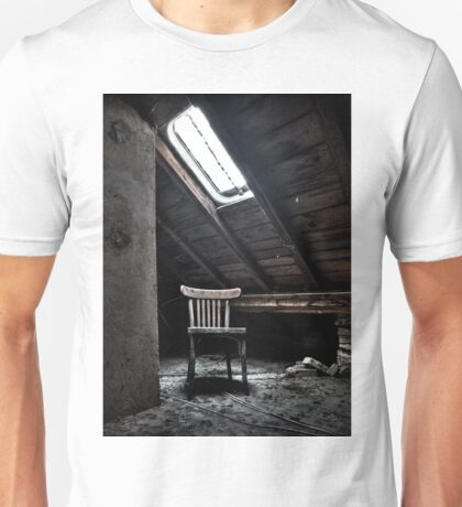Chair in the light Unisex T-Shirt