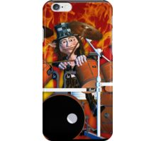 Mad as a drummer iPhone Case/Skin