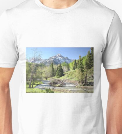 Sneffels in Springtime Unisex T-Shirt