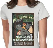 Curse of the Deadly Dinosaur! Womens Fitted T-Shirt