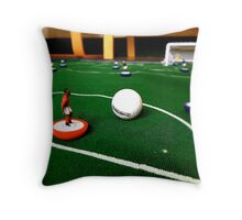 Just flick to kick Throw Pillow