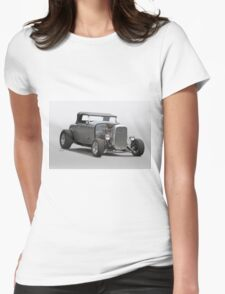 1932 Ford Roadster 'Gray Wolf' I Womens Fitted T-Shirt