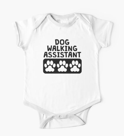 Dog Walking Assistant One Piece - Short Sleeve