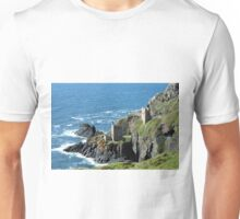 Botallack Crown Engine Houses Cornwall Unisex T-Shirt