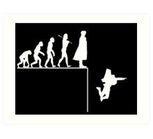 Sherlock Evolution Art Print