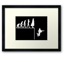 Sherlock Evolution Framed Print