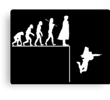 Sherlock Evolution Canvas Print