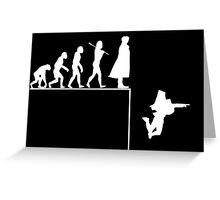 Sherlock Evolution Greeting Card