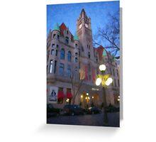 Landmark Center as Painting Greeting Card