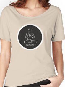 Yoga Namaste Calmness (White) Women's Relaxed Fit T-Shirt