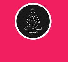 Yoga Namaste Calmness (White) T-Shirt