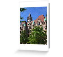Landmark Center Close-up Greeting Card