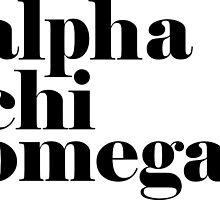 Alpha Chi Omega Classic by greekinmyrari