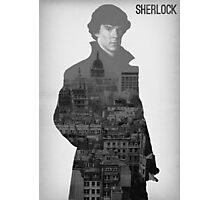 BBC Sherlock Poster  Photographic Print