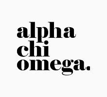 Alpha Chi Omega Classic Unisex T-Shirt
