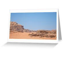 WADI RUM DESERT/JORDAN Greeting Card