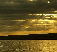 Crepuscular Light by Jamie  Green