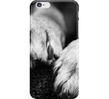 Dog paws for your iPhone iPhone Case/Skin