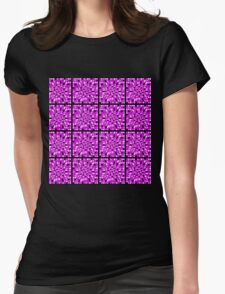MULTI COLORED PURPLE ABSTRACT DESIGN T-Shirt