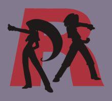 Team Rocket Line art Kids Clothes