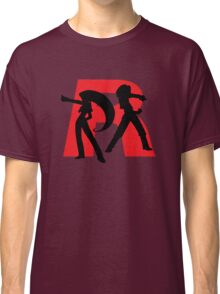 Team Rocket Line art Classic T-Shirt