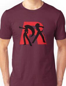 Team Rocket Line art Unisex T-Shirt