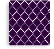 MESH FENCE Canvas Print