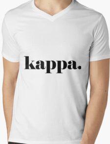Kappa Classic Mens V-Neck T-Shirt