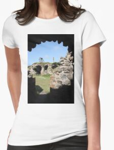 Brunton Calciners Botallack Cornwall Womens Fitted T-Shirt