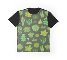 Succulents Graphic T-Shirt