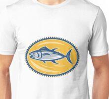 Blue Fin Tina Side Retro Unisex T-Shirt
