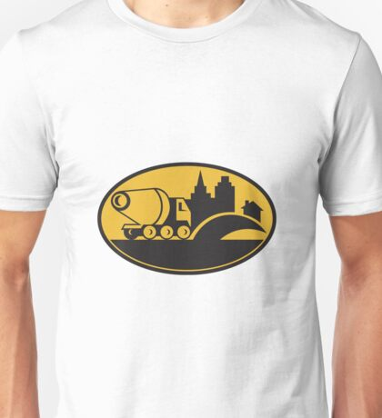 Cement Truck Construction Building Unisex T-Shirt