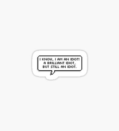 Leo valdez quotes Sticker