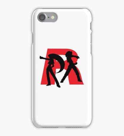 Team Rocket Line art iPhone Case/Skin