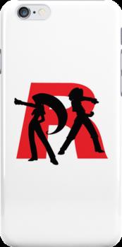 Team Rocket Line art by mdesign