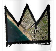 "Basquiat ""King of Santa Monica"" Poster"