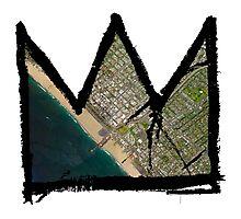 "Basquiat ""King of Santa Monica"" Photographic Print"