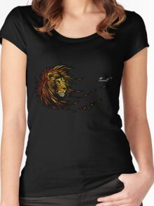 Lion's Brightness Women's Fitted Scoop T-Shirt