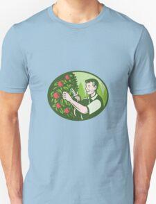 Horticulturist Farmer Pruning Fruit Unisex T-Shirt