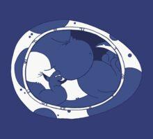 Baby Yoshi - Blue by MikeyTurvey