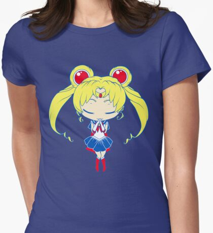 Chibi Sailormoon Womens Fitted T-Shirt