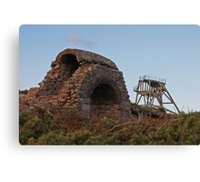 Cornish Mine Workings Canvas Print